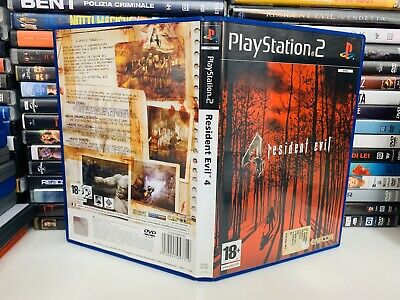 Resident Evil 4 - Ps2 Pal Ita - Completo -