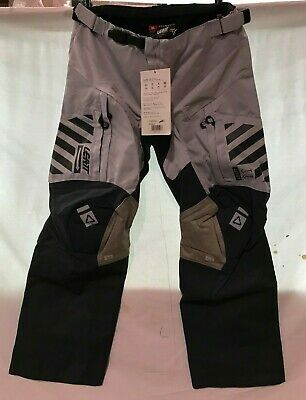 New Leatt GPX 5.5 Enduro Pants - Motocross Dirtbike Offroad SIZE XL  SILVER