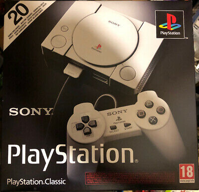 Sony PlayStation Classic Mini Console 20 games inbuilt