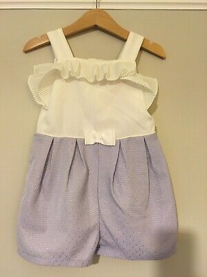 Ted Baker Little Girls Playsuit BRAND NEW WITH TAGs 18-24 Months