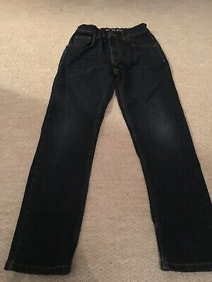 Boys Dark Blue Jeans TU Age 9 Years Worn New Without Tags