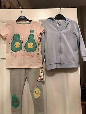 Bnwt M&S Girls Outfit Aged 3-4 Years