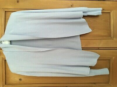 Lovely pale blue cardigan from Autograph at Marks and Spencer, size 12, pale blu