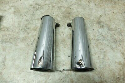 KAWASAKI VN1600 VULCAN CLASSIC NOMAD CHROME SHOCK ABSORBER SPIKES nuts vn 1600
