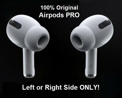 New Genuine Apple Airpods Pro 2019 MWP22AM/A Airbuds - Select Left Right or Both