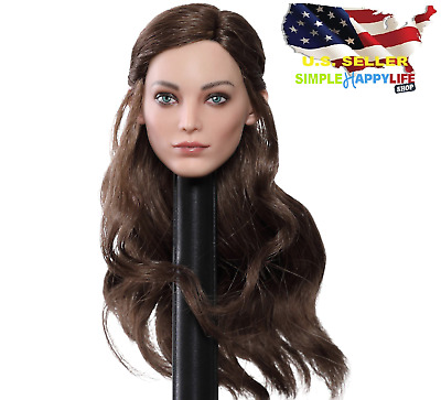 "Kimi KT012 1//6 cheveux blonds Female Head for 12/"" Phicen Hot Toys figure ❶ USA ❶"