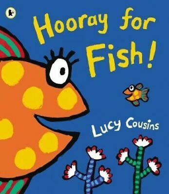 NEW Hooray for Fish! By Lucy Cousins Paperback Free Shipping