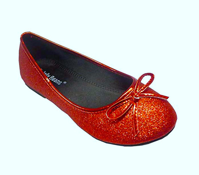 NEW Girls Youth JB JUMPING BEANS JELLY Clear//Sliver Flats Shoes SZ 12