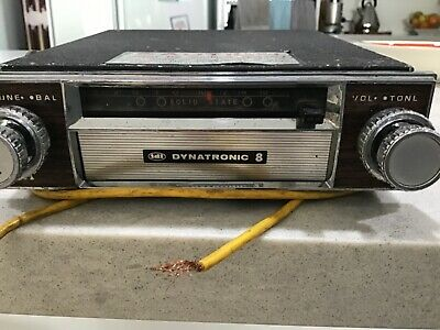 Eight track stereo vintage