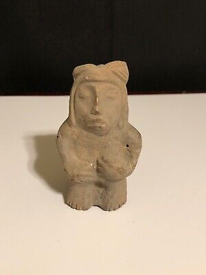 Antique Stone Carved Figure ?Pre-Columbian