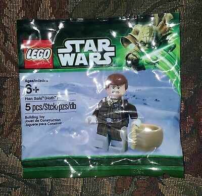 LEGO Star Wars Han Solo Hoth Parka Minifigure Polybag sw466 5001621 NEW SEALED