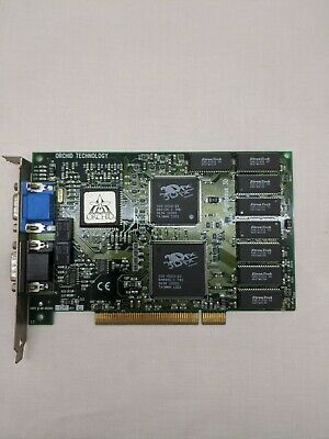 Orchid Technology Righteous 3Dfx Voodoo 1 4MB PCI Video Card Tested & Vintage