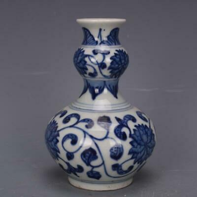 Chinese ancient antique hand make Blue and white VASE  Porcelain decoration
