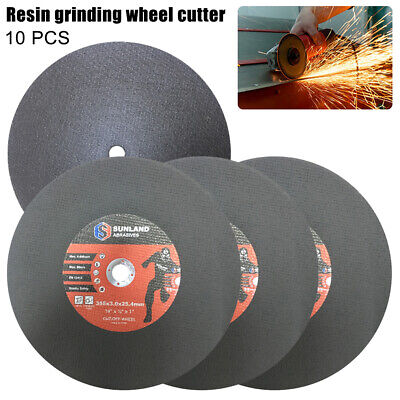 355MM CUTTING DISC METAL CUT OFF WHEEL ANGLE GRINDER THIN STEEL STAINLESS 3mm AU