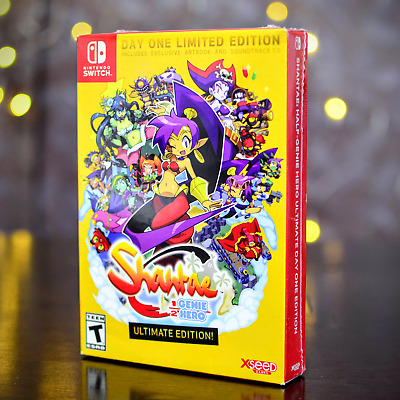 Shantae Half-Genie Hero: Ultimate Day One Edition (Nintendo Switch) - New/Sealed