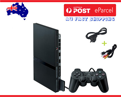 PLAYSTATION 2 SLIM CONSOLE + GAMES + ACCESSORIES + Warranty   PS2   FREE POST