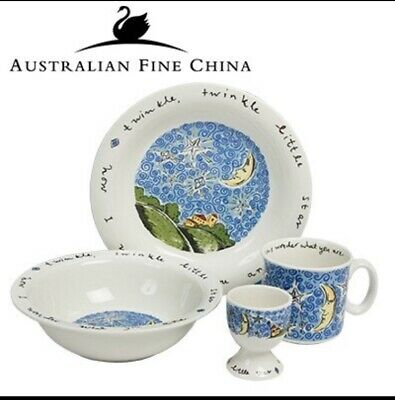 Famous fables Kids China Set 4 Piece Twinkle Little Star