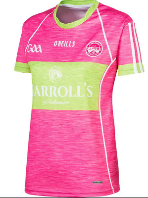 O'Neills Uibh Fhaili Pink Short Sleeved  T-Shirt Girls Size UK 13 Years *REF170