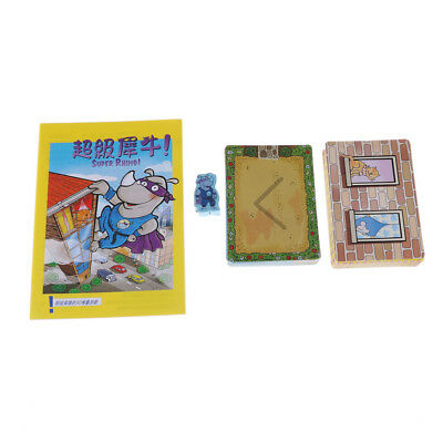 Super Rhino Boards Games 2-5 Players Funny CardGames Paper Game For Party/Fam_dr