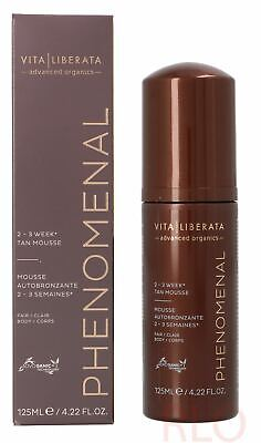 Vita Liberata pHenomenal 2 - 3 Week Tan Mousse 125ml Unisex #Fair