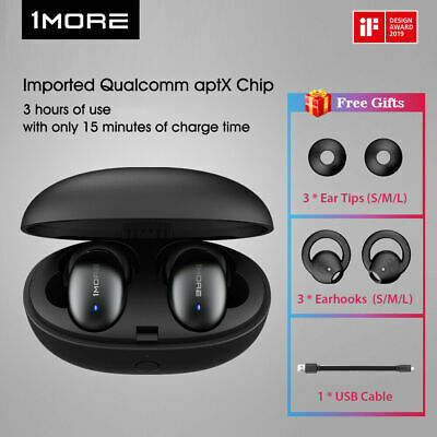 1MORE True Wireless In-Ear Earphones Headphones Fast Charge 96 Hours Standby