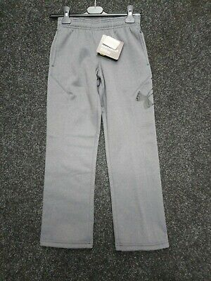 """Boys Under Armour Storm Water Resistant Joggers Trousers Uk S (24-26"""") NEW"""