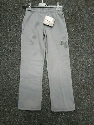 """Boys Under Armour Storm Water Resistant Joggers Trousers Uk M (26""""-28"""") NEW"""