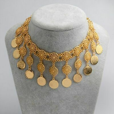 High Quality Arab Coins Round Necklaces For Women Fashion Jewelry Wedding Gifts