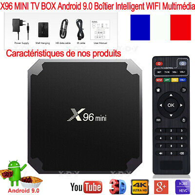 X96Q Android 10.0 Quad Core TV BOX 2.4G WIFI H.265 Allwinner 4K Smart Multimédia