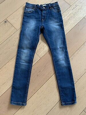 Next Boys Skinny Blue Jeans Age 10 Years