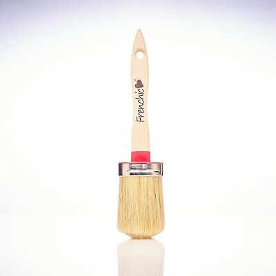 Frenchic Chalk &Mineral Paint Brush Medium 50mm Pure Bristle& Synthetic FREEPOST