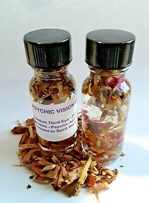Psychic Vision Oil Open Third Eye Powerful Prophetic Dreams Astral Travel Wicca