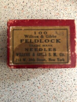 Wilcox & Gibbs Feldlock Machine Needles