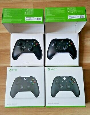 Genuine Xbox One Controllers - Black - Boxed in excellent condition