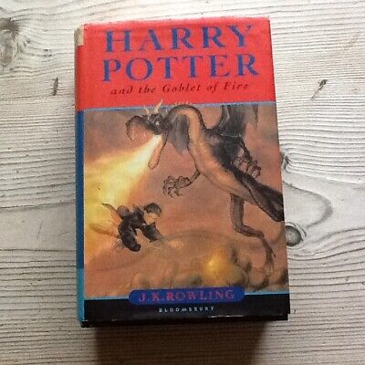 Harry Potter And The Goblet Of Fire  By J.k. Rowling 2000 Hb 1St Ed With Dj