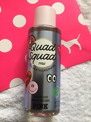 PINK by Victoria's Secret QUAD SQUAD Scented Mist. 250ml. RRP $16.50. *NEW*.