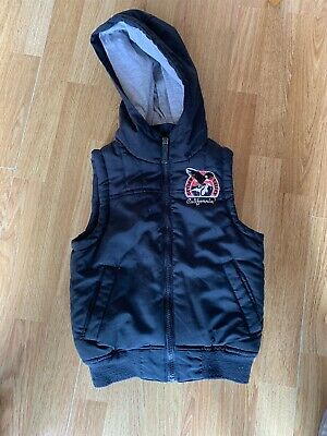 Boys Blue Gillet From Outlaw Valley Size 5-6 Years