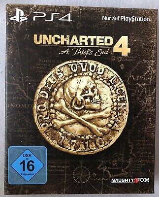 PS4 Uncharted 4 A Thief's End Special Edition NEU & OVP