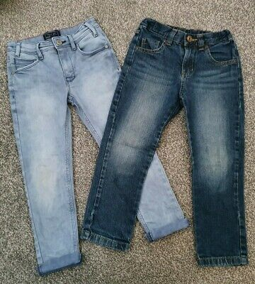 Boys Jeans Bundle Next And F&F 5-6 Years