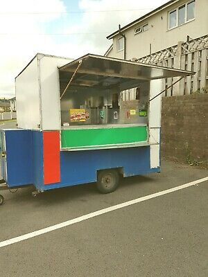 used mobile catering trailer