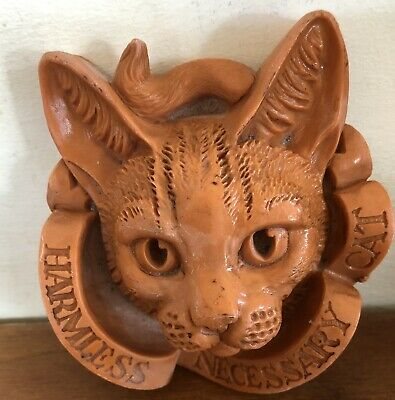 Latex Mould for making this Lovely Detailed Cat Plaque