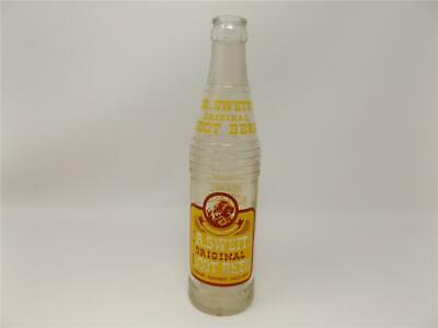 1940's Dr, Swetts Root Beer Bottle 10 oz. Yakima Wa From Childhood to Old