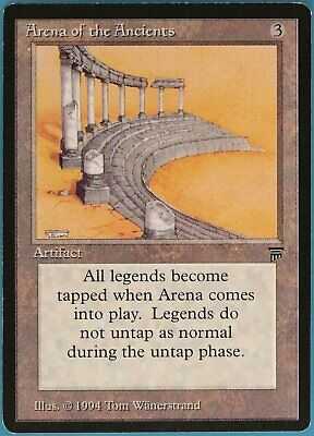 Arena of the Ancients Legends NM Artifact Rare MAGIC CARD (ID# 100519) ABUGames
