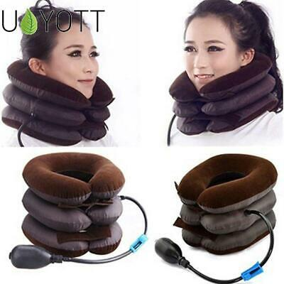 orthopedic support Necksmith Cervical Inflatable neck Traction collar travel new