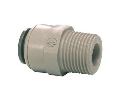 "JOHN GUEST Quick Connect Male Adapter SPEED FIT 1/2"" x 1/2 nptf PI011624S"