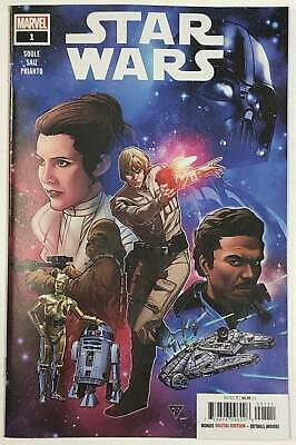 Star Wars #1 (Marvel 2020) R. B. Silva Cover
