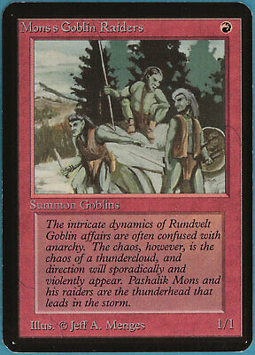 Mogg Raider Tempest NM Red Common MAGIC THE GATHERING MTG CARD ABUGames