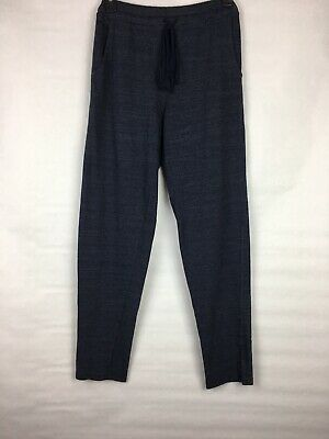 New $138 Michael Stars Women's Size XSmall Hayden Track Pants Sweatpants Blue