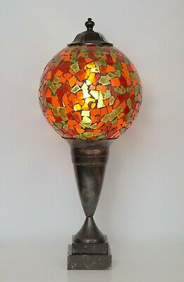 "Beautiful Unique Table Lamp "" Coloured Sphere "" Table Lamp Lamp"