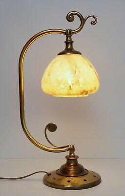 Design Unique Art Nouveau Berlin Brass Lamp Desk Light Kontorlampe